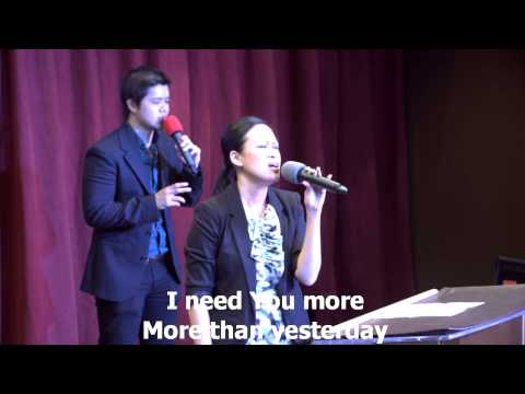 I Need You More worship led by Gretchen Lee-Trisna