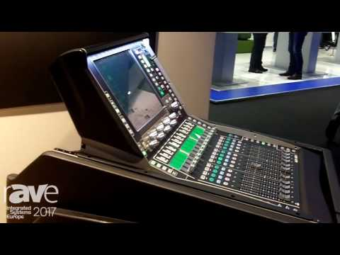 ISE 2017: Allen & Heath Show dLive C Class Mixing Console