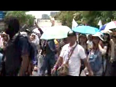 Thai anti-government protesters rally