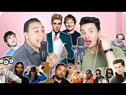 "Download Lagu  Ed Sheeran & Justin Bieber - ""I Don't Care"" Impersonation Cover LIVE ONE-TAKE! Mp3 Free"