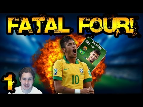 iMOTM NEYMAR FATAL FOUR EP1 | FIFA 14 ULTIMATE TEAM