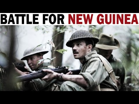 Battle for New Guinea | 1942-1945 | Australian & American Soldiers in Action | WW2 Documentary Film
