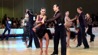 Ballroom Dance Video 2011 Desert Classic Open Professional Latin Final