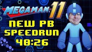 Mega Man 11 Any% Speedrun in 40:26 PB!