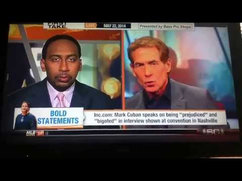 "ESPN First Take: Mark Cuban speaks on being ""prejudice"" and ""bigoted"" PART 1"