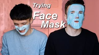 GUYS TRY WOMENS FACE MASK'S | Clean Skin
