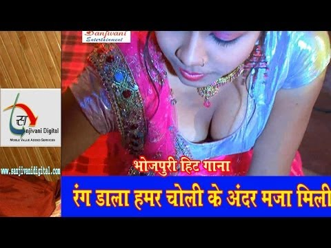 Hd Rang Dala Jani Choli Bhitariya | 2014 New Holi Hot Bhojpuri Song | Amrita Dikshit video