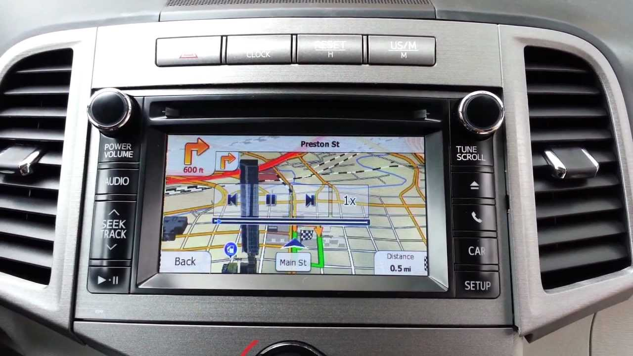2013 Venza Gps Navigation Upgrade Youtube