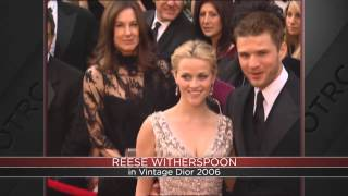 THROWBACK THURSDAY: Reese Witherspoon in vintage Dior at 2006 Oscars