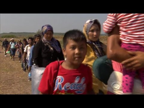 Syrian refugees face roadblock in Hungary