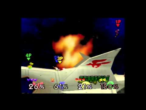 Super Smash Bros. 64 -- Match 2: Revenge of Goldeen