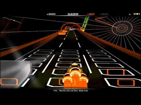 P!nk - Blow Me (one Last Kiss) (radio Edit) (audiosurf) video