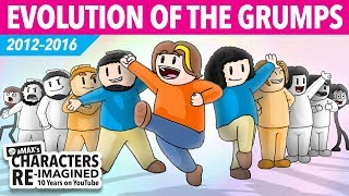 The Evolution of the Grumps (aMAX's Game Grumps Animated)
