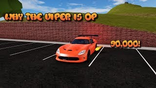 Why you should buy a Viper | ROBLOX Vehicle Simulator