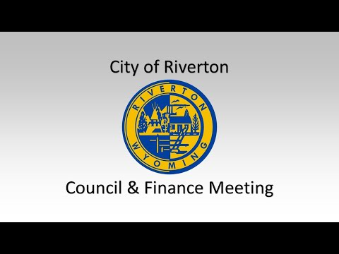 Regular meeting of the Riverton, WY City Council held on June 7th, 2016, preceded by meeting of the Finance Committee. See annotations at beginning of video for links to agenda items.