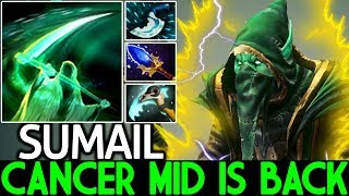 SUMAIL [Necrophos] Cancer Mid is Back Scepter Raid Boss 7.22 Dota 2