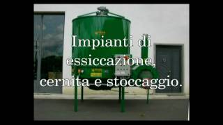 Impianti di essiccazione, cernita e stoccaggio -- Drying, selection and storing up systems FACMA