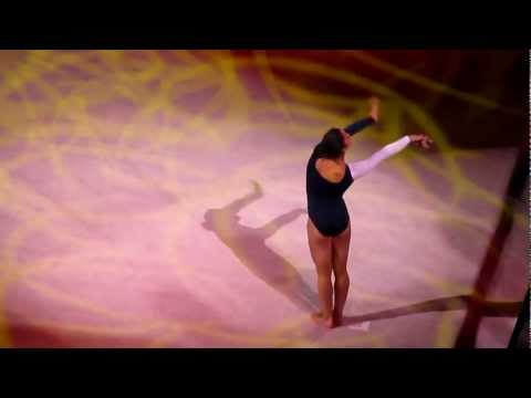 Gymnastics Champions Tour: Aly Raisman floor routine