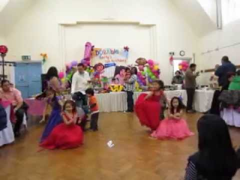 young filipino girls elegant dance