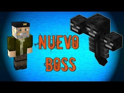 Matando NUEVO Wither BOSS + Poción de Invisibilidad
