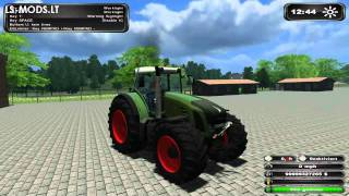 Fendt, Vario, 939, mod, farming, simulator, ls, 2011, mods, tractor