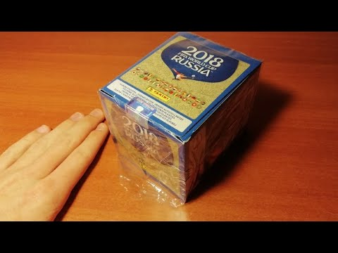 "BOX OPENING 1/10 ""Чемпионат Мира 2018 Panini"" { } Открытие 5-и пачек ""FIFA WORLD CUP RUSSIA 2018"""