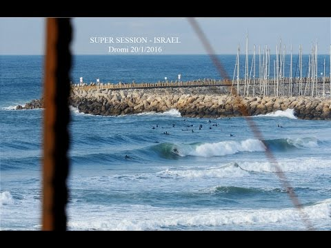 Israel Super Session - 20/01/2016 - Surfing in Israel