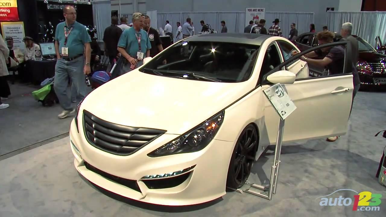 SEMA 2010: Ford Fiesta, Honda CR-Z, Hyundai Equus, Camaro SS and Ford Explorer - YouTube