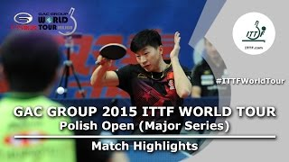 Polish Open 2015 Highlights: MA Long vs HARIMOTO Tomokazu (R64)