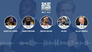 UNDISPUTED Audio Podcast (05.02.19) with Skip Bayless, Shannon Sharpe & Jenny Taft | UNDISPUTED