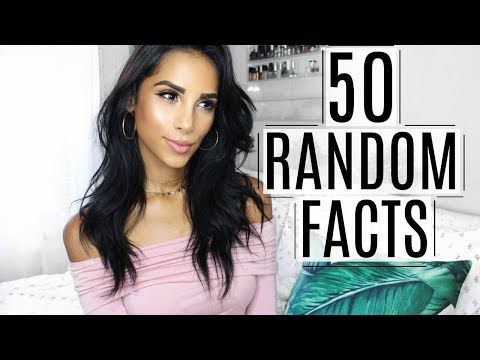 50 Random Facts About Me | Nathalie Muñoz