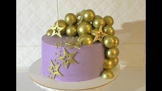Шоколадные шары МК Торт на мой День рождения /// Olya Tortik Домашний Кондитер