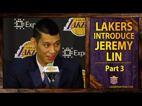 Jeremy Lin Lakers Press Conference (PT. III): On James Harden's Comments, Steve Nash