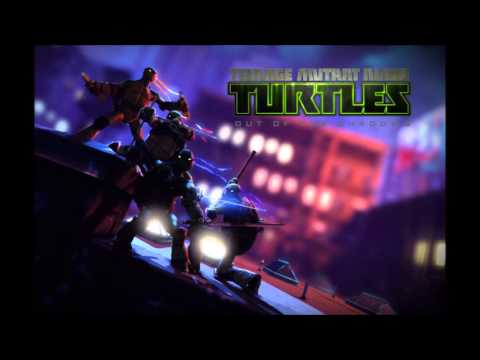 TMNT out of the shadows main menu music HQ+Lyrics!