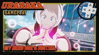Uraraka Gameplay My Hero One´s Justice // #uraraka #hero