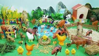 Learn the favorite foods of farm animal toys in BonBi TV farm