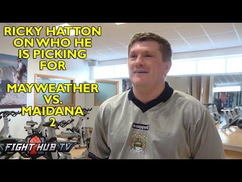 Ricky Hatton talks Mayweather vs Maidana 2; Feels Mayweather took Maidana lightly.