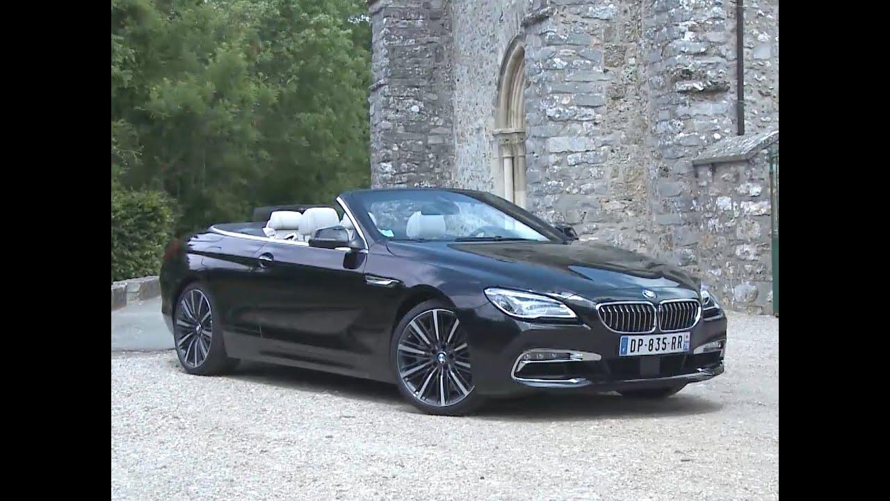 Essai bmw serie 6 640i cabriolet exclusince 2015 youtube