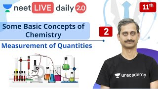 NEET: Some Basic Concepts of Chemistry - L2 | Class 11 | Live Daily 2.0 | Unacademy NEET | Anoop Sir