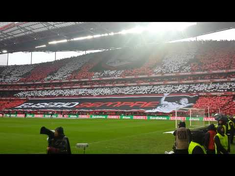 Benfica vs Porto Homenagem Eusébio