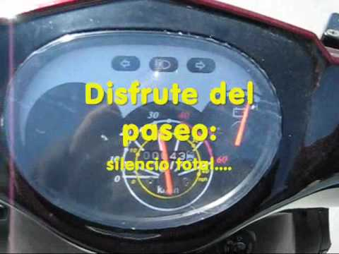 +60Km/h Scooter Elctrico 1500W biplaza (Ciclomotor)