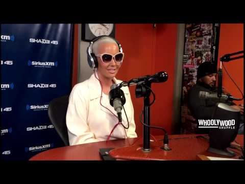 Amber Rose Juicy Interview With DJ Whoo Kid