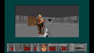Doom on Wolfenstein 3D Mod WIP