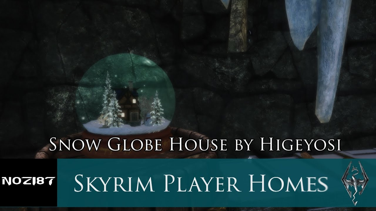 House Snow Globe Snow Globe House by Higeyosi