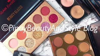 Beauty Glazed Palettes Haul and First Impressions