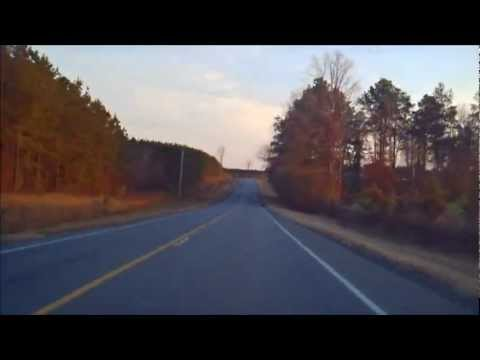 Driving from Benton, AR to Sheridan, AR on AR 35. Filmed on December 9th 2011.