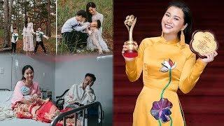 """Sự thật cuộc sống hôn nhân của cô gái""""""""vượt mặt"""" Hoài Linh, Trấn Thành ẵm giải Mai Vàng 2018"""