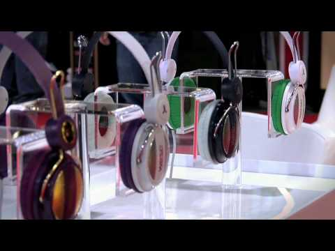 WeSC Headphone Preview at 2010 CES
