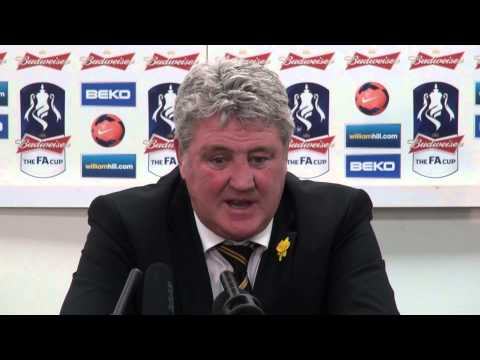 Hull City v Sunderland | FA Cup Quarter Final | Reaction with Steve Bruce