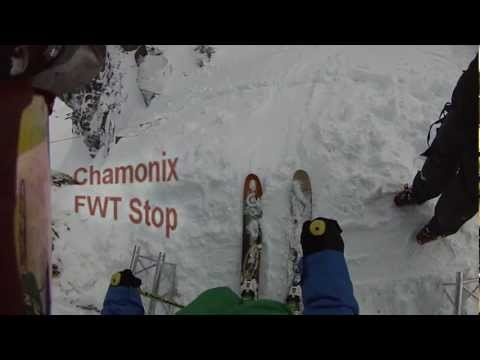Average skiing for 16th at the Chamonix FWT stop and an amateur crash at the ...